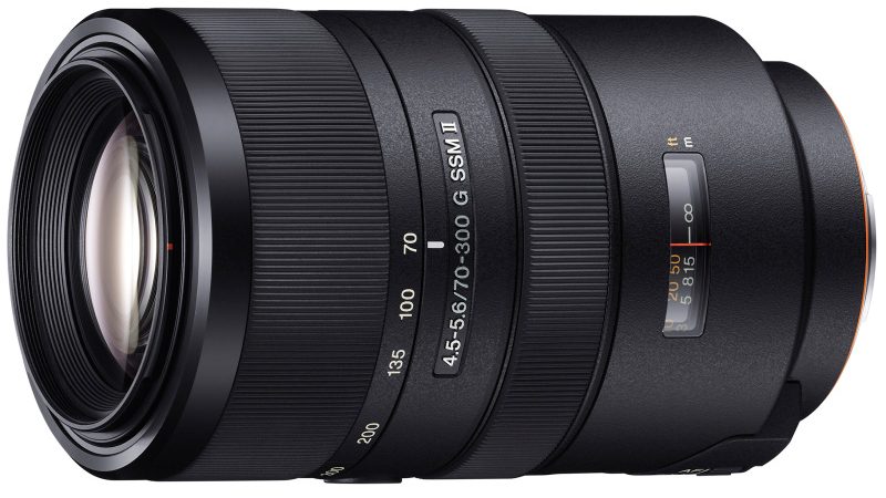 Sony 70-300 mm F4,5 – F5,6 G SSM II